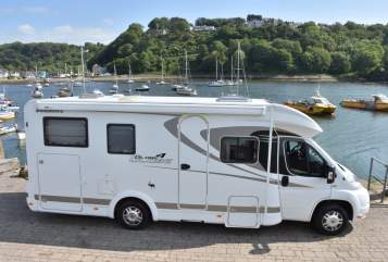Hire a motorhome in Melle from private owners| Dethleffs Bella