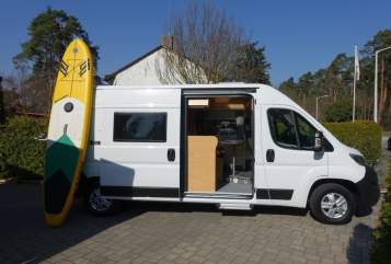 Hire a motorhome in Nürnberg from private owners  Pössl Camper Clever