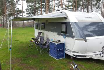 Hire a motorhome in Bielefeld from private owners| Hobby  Familienbude