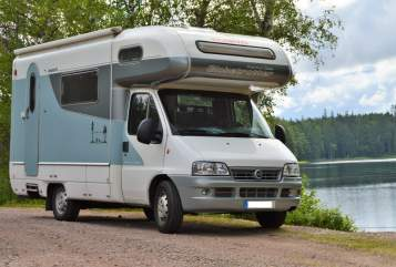 Hire a motorhome in Jarmen from private owners| Dethleffs Globetrotter