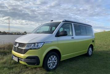 Hire a motorhome in Hamburg from private owners| VW Gamscar