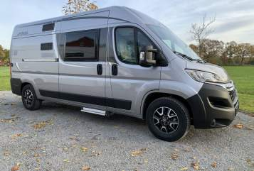 Hire a motorhome in Herzebrock-Clarholz from private owners| Pössl Rent a Pössl
