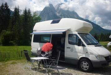 Hire a motorhome in Schwalbach from private owners| Mercedes Sprinter James