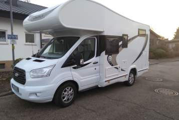 Hire a motorhome in Kehl from private owners| Chausson Cody