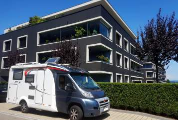 Hire a motorhome in Konstanz from private owners| Bürstner Knut