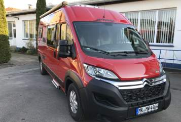 Hire a motorhome in Kreis Iserlohn from private owners  Pössl MiWi 4404