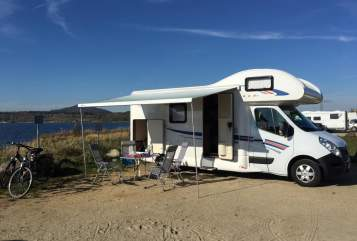 Hire a motorhome in Klipphausen from private owners| Ahorn Camp 683 ECO mit Klima Domino neu
