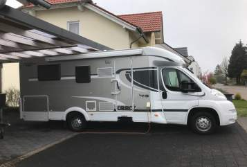 Hire a motorhome in Mandelbachtal from private owners| Carrado  Dampfer