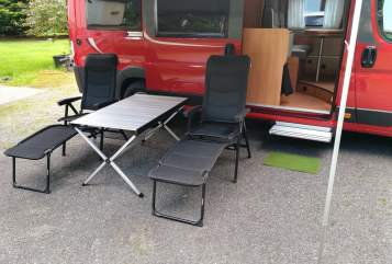 Hire a motorhome in Talling from private owners| Pössl Hannibal
