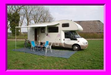 Hire a motorhome in Tilburg from private owners  Ford Rimor 4 Vila Mobil