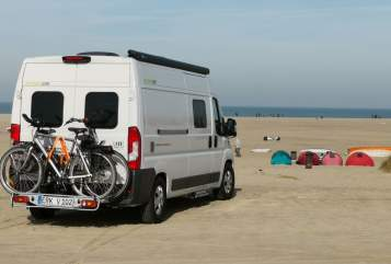 Hire a motorhome in Hückelhoven from private owners| Hymer Mein Herz 2