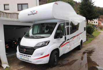 Hire a motorhome in Schönau from private owners| Sunlight Willy
