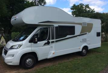 Hire a motorhome in Biesenthal from private owners| Fiat Der Dicke