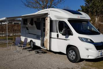 Hire a motorhome in Böblingen from private owners| Adria Matrix