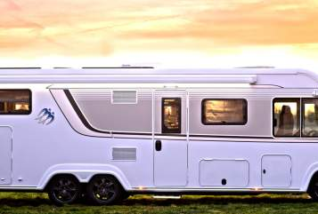 Hire a motorhome in Tremsbüttel from private owners  Knaus Der Dicke