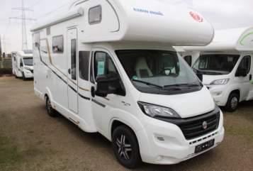 Hire a motorhome in Lappersdorf from private owners| Eura Mobil  Gustl