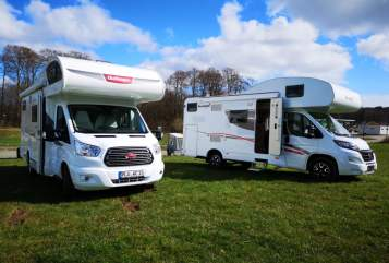 Hire a motorhome in Selent from private owners| Challenger  Big Food