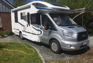 Hire a motorhome in Garding from private owners| Chausson  Susi