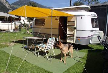 Hire a motorhome in Landshut from private owners  Hymer Eriba Der TROLL
