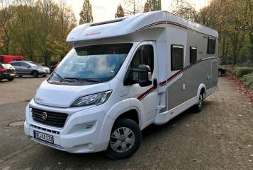 Hire a motorhome in Dormagen from private owners  Dethleffs Florian