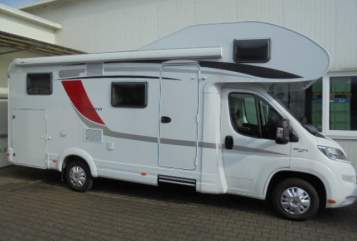 Hire a motorhome in Dietenheim from private owners| Bürstner Lyseo A 700 NIWIMOBIL