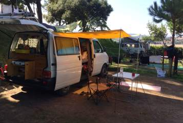 Hire a motorhome in Lüneburg from private owners  VW Nane