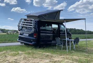 Hire a motorhome in Wetter from private owners  VW CaliBlue