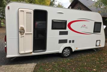 Hire a motorhome in Schwerte from private owners  Bürstner Wally
