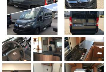 Hire a motorhome in Wiehl from private owners| Pössl SanCruPössl(2)