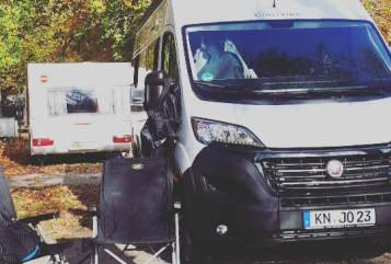 Hire a motorhome in Konstanz from private owners| Sunliving Wohnfred Womo