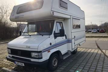 Hire a motorhome in Potsdam from private owners| Fiat 290 Eura Camper