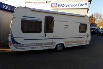 Hire a motorhome in Gründau from private owners  Fendt Bianco Nikki 1