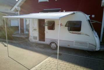 Hire a motorhome in Eimeldingen from private owners| Sterckeman Luna