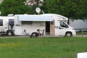 Hire a motorhome in Bad Berneck i. Fichtelgebirge from private owners| XGO Dynamic 95P Mueller-WoMo