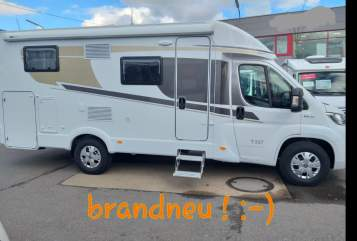 Hire a motorhome in Saarbrücken from private owners| Carado HappyHoliday:-)
