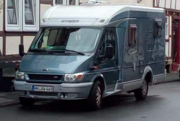 Hire a motorhome in Bad Sooden-Allendorf from private owners| Ford Hymer Nina