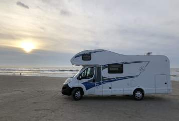 Hire a motorhome in Kiel from private owners| Knaus Knaus L!VE 650