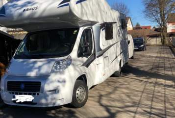 Hire a motorhome in Augsburg from private owners| Knaus Sky Traveller