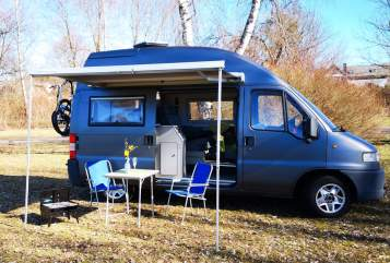 Hire a motorhome in Ailertchen from private owners  La Strada Paulinchen