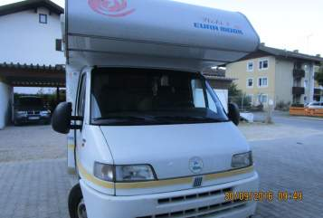 Hire a motorhome in Wettenberg from private owners  Fiat Wobi 2