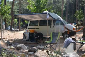 Hire a motorhome in Landau in der Pfalz from private owners  VW T4 Doro