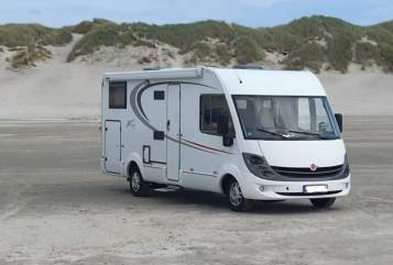 Hire a motorhome in Rötha from private owners| Bürstner Viseo 694i Günther