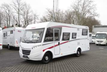 Hire a motorhome in Duisburg from private owners| Dethleffs Dethleffs Trend