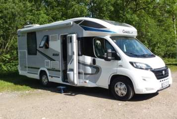 Hire a motorhome in Hessisch Lichtenau from private owners| Chausson  Inselhüpfer