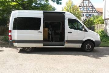 Hire a motorhome in Wiernsheim from private owners| Mercedes Sprinter Bud Spencer