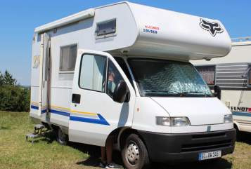 Hire a motorhome in Heuchelheim from private owners| FIAT Kleiner Bruder