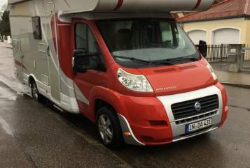 Hire a motorhome in Landkreis Ingolstadt from private owners| Dethleffs Ronny
