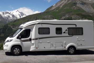 Hire a motorhome in Nürnberg from private owners| Hymer  Alex