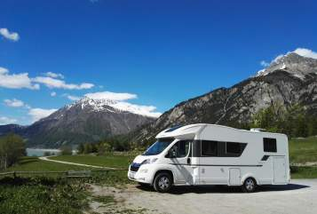 Hire a motorhome in Tannheim from private owners| Adria Schorschi