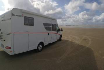 Hire a motorhome in Herrieden from private owners| Sunlight ANNA